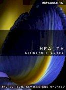 Blaxter, Mildred - Health - 9780745648460 - V9780745648460
