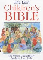 Pat Alexander - The Lion Children's Bible - 9780745919393 - KRA0006407