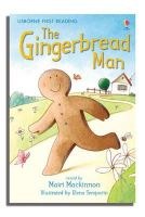 Alison Kelly - The Gingerbread Man (Usborne First Reading, Level 3) - 9780746073360 - V9780746073360