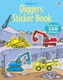 Alice Pearcey, Dan (Illus) Crisp, Louie Stowell - Diggers Sticker Book (Sticker Books) - 9780746089392 - V9780746089392