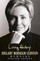 Rodham Clinton, Hillary - Living History - 9780747255246 - KTJ0025418