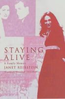 Janet Reibstein - Staying Alive: A Family Memoir - 9780747564706 - KEX0160977