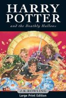 Rowling, J. K. - Harry Potter and the Deathly Hallows (Harry Potter 7 Large Print) - 9780747591085 - V9780747591085