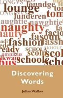 Julian Walker - Discovering Words (Shire Discovering) - 9780747807490 - KEX0284170