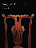 Bly, John, Knowles, Eric - English Furniture (Shire Collections) - 9780747807865 - 9780747807865
