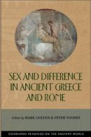 - Sex and Difference in Ancient Greece and Rome (Edinburgh Readings on the Ancient World) - 9780748613205 - V9780748613205