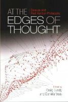 LUNDY CRAIG   VOSS D - AT THE EDGES OF THOUGHT - 9780748694631 - V9780748694631