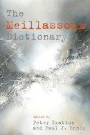 Peter Gratton, Paul J. Ennis - The Meillassoux Dictionary - 9780748695560 - V9780748695560