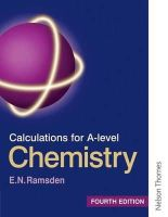 Ramsden, Eileen - Calculations for A Level Chemistry - 9780748758395 - V9780748758395