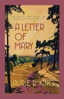 Laurie R King - Letter of Mary - 9780749015053 - V9780749015053