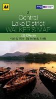 AA Publishing - Walker's Map Central Lake District - 9780749573133 - V9780749573133