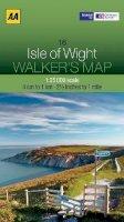 AA Publishing - Walker's Map Isle of Wight - 9780749573232 - V9780749573232