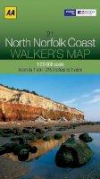 AA Publishing - Walker's Map North Norfolk Coast - 9780749573270 - V9780749573270
