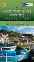 AA Publishing - Walker's Map North York Moors (eastern) - 9780749573287 - V9780749573287