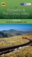 AA Publishing - Walker's Map Snowdon & Conwy Valley - 9780749573324 - V9780749573324