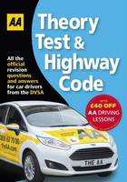 AA Publishing - Theory Test & Highway Code (AA Driving Test Series) - 9780749578077 - V9780749578077