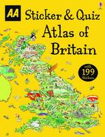 AA Publishing - Sticker & Quiz Atlas of Britain - 9780749578145 - V9780749578145