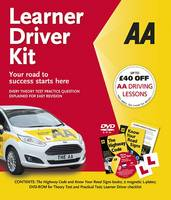 AA Publishing - Learner Driver Kit (AA Driving Test Series) - 9780749578428 - V9780749578428