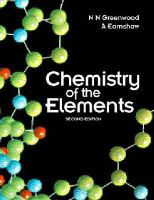 Earnshaw, A., Greenwood, Norman - Chemistry of the Elements, Second Edition - 9780750633659 - V9780750633659
