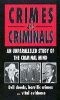 Anonymous, x - Crimes And Criminals - 9780751533620 - KIN0009031