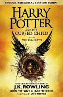 J.K. Rowling, Jack Thorne, John Tiffany - Harry Potter and the Cursed Child - Parts I & II : The Official Script Book of the Original West End Production - 9780751565355 - V9780751565355
