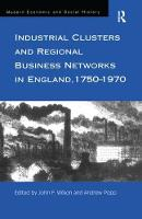 - Industrial Clusters and Regional Business Networks in England, 1750-1970 - 9780754607618 - V9780754607618