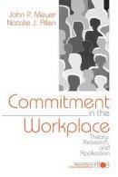 Meyer, John P.; Allen, Natalie J. - Commitment in the Workplace - 9780761901051 - V9780761901051