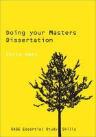 Hart, Christopher - Doing Your Masters Dissertation (SAGE Study Skills Series) - 9780761942177 - V9780761942177