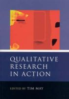May, Tim - Qualitative Research in Action - 9780761960683 - V9780761960683