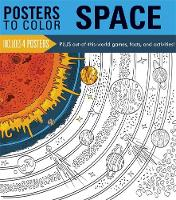Running Press - Posters to Color: Space - 9780762459971 - 9780762459971