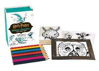 Running Press - Harry Potter Magical Creatures Coloring Kit - 9780762461479 - V9780762461479