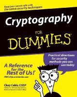 Cobb, Chey - Cryptography For Dummies - 9780764541889 - V9780764541889