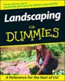 Giroux, Phillip, Beckstrom, Bob, Walheim, Lance, The Editors of the National Gardening Association - Landscaping for Dummies - 9780764551284 - V9780764551284