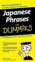 Sato, Eriko - Japanese Phrases For Dummies - 9780764572050 - V9780764572050