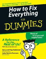Hedstrom, Gary; Hedstrom, Peg; Tremore, Judy - How to Fix Everything For Dummies - 9780764572098 - V9780764572098