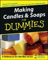 Kelly Ewing - Making Candles and Soaps For Dummies - 9780764574085 - V9780764574085