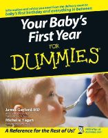 Gaylord, James; Hagen, Michelle - Your Baby's First Year For Dummies - 9780764584206 - V9780764584206