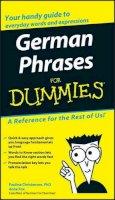 Consumer Dummies - German Phrases For Dummies - 9780764595530 - V9780764595530
