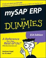Vogel, Andreas; Kimbell, Ian - MySAP ERP For Dummies - 9780764599958 - V9780764599958
