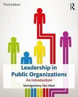 Van Wart, Montgomery - Leadership in Public Organizations: An Introduction - 9780765647023 - V9780765647023