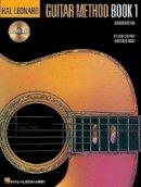 Schmid, Will, Koch, Greg - Hal Leonard Guitar Method Book 1:  Book/CD Pack - 9780793533923 - V9780793533923