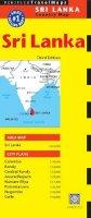Periplus Editors - Sri Lanka Travel Map Third Edition (Periplus Travel Maps: Country Map) - 9780794606039 - V9780794606039