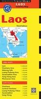 Periplus Editors - Laos Travel Map Third Edition - 9780794607319 - V9780794607319