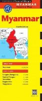 Periplus Editors - Myanmar Travel Map Fourth Edition (Periplus Travel Maps) - 9780794607623 - V9780794607623