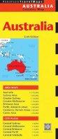 Periplus Editors - Australia Travel Map Sixth Edition - 9780794607685 - V9780794607685