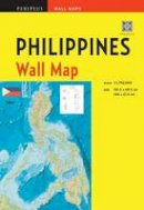 Periplus Editors - Philippines Wall Map Second Edition: Scale: 1:1,750,000; Unfolds to 40 x 27.5 inches (101.5 x 70 cm) (Periplus Wall Maps) - 9780794607869 - V9780794607869
