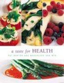 van Wyk, Magdaleen, Barton, Pat - A Taste for Health - 9780798142984 - KOC0007098