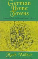 Walker, Mack; Sheehan, James J. - German Home Towns - 9780801485084 - V9780801485084