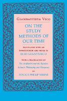 Vico, Giambattista - On the Study Methods of Our Time - 9780801497780 - KOC0009981