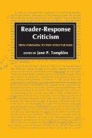 - Reader-response Criticism - 9780801824012 - V9780801824012